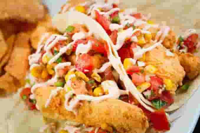 Say it Twice Mahi Mahi Taco