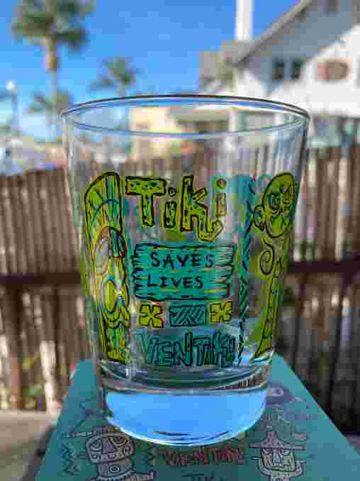 Tiki Saves Lives Tumbler (green)