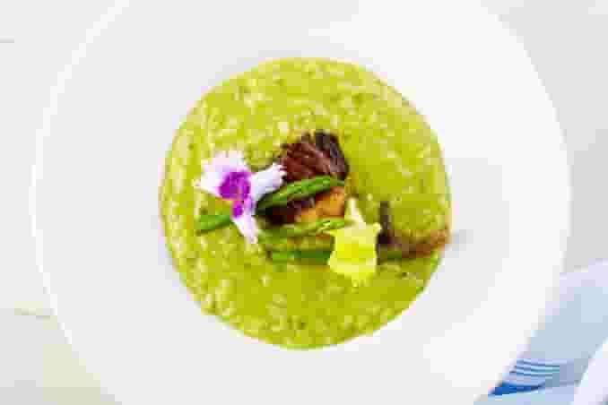 Risotto Verde (Greppi Carnaroli Rice)