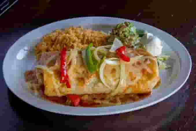 Grilled Steak Fajita Burrito