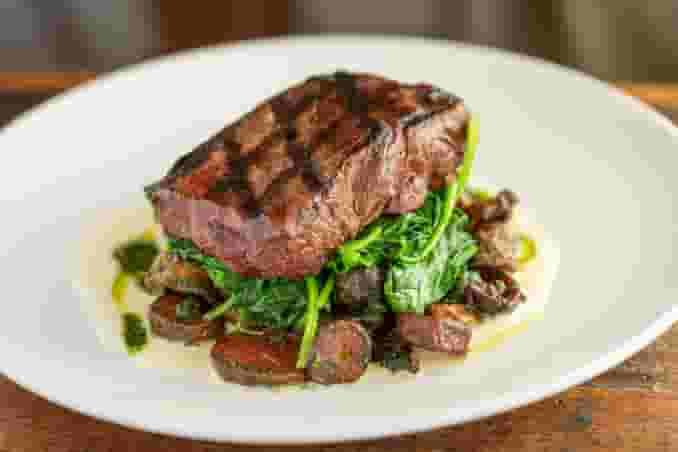 Grilled *8oz Filet Iron Steak
