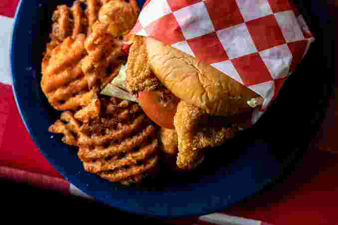 Catfish Sandwich - Grilled or Fried