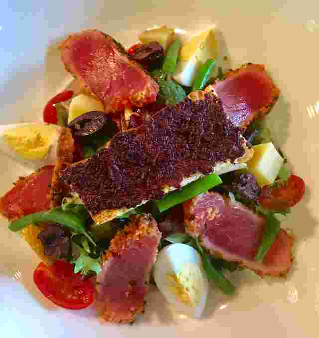 "Seared Yellowfin Ahi Tuna Salad ""Niçoise"""