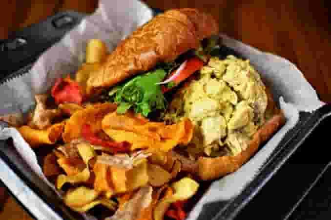 Chicken Crosissant Sandwich