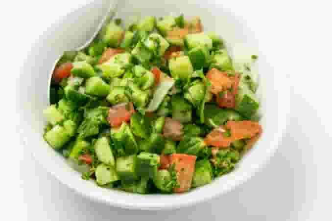 Shirazi Salad (Persian Salad)