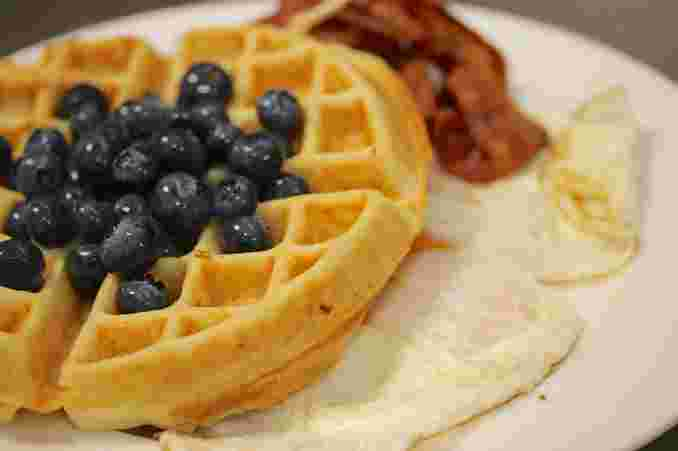 Blueberry Waffle Deluxe