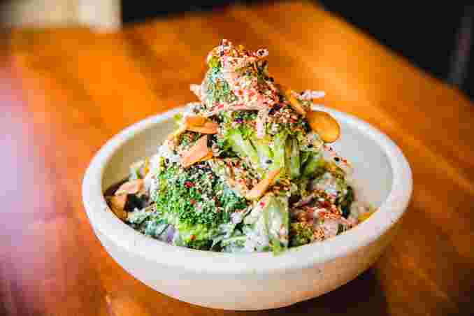 Chilled Broccoli Salad