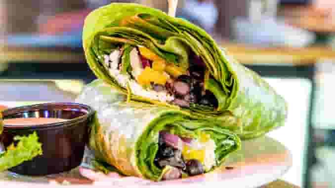 California Veggie Wrap