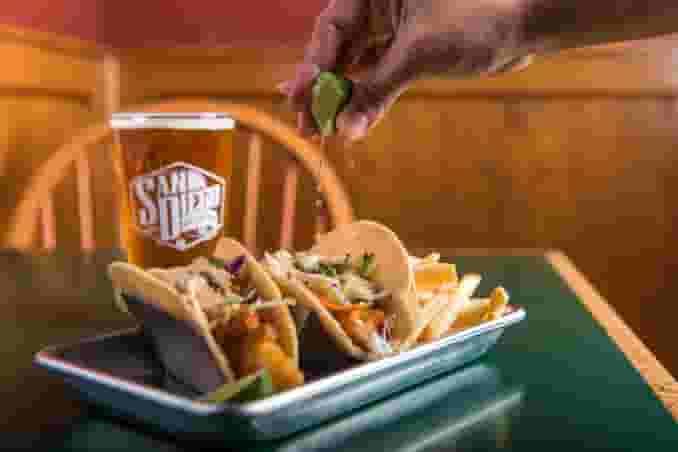 2 Brew Co. Fish Tacos