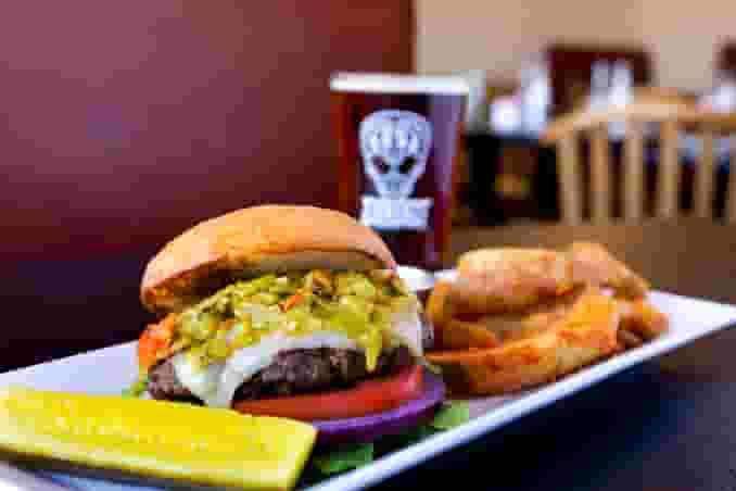 Green Chile Jack Burger