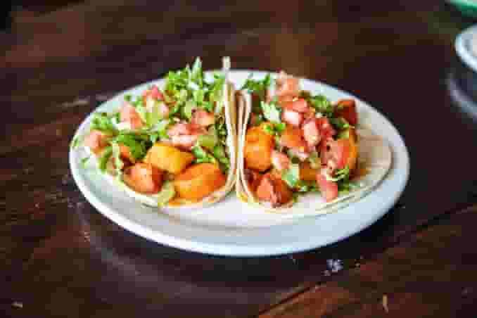 Potato & Carrot Tacos