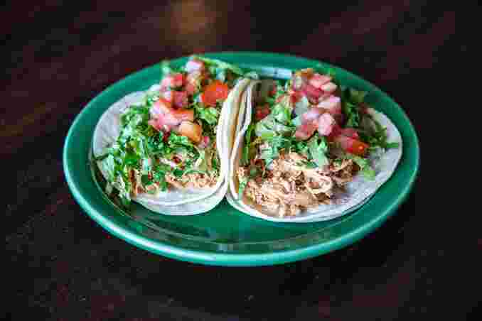 Pulled Chicken Tacos