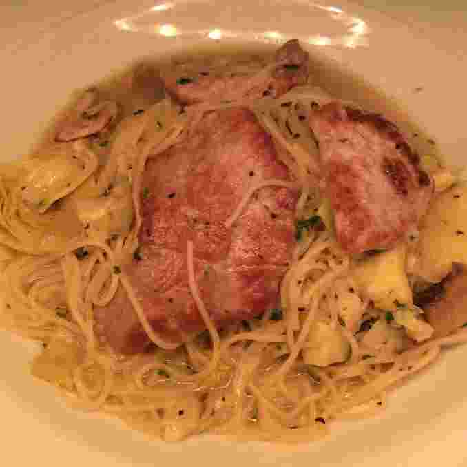 Angel Hair Pasta with Veal