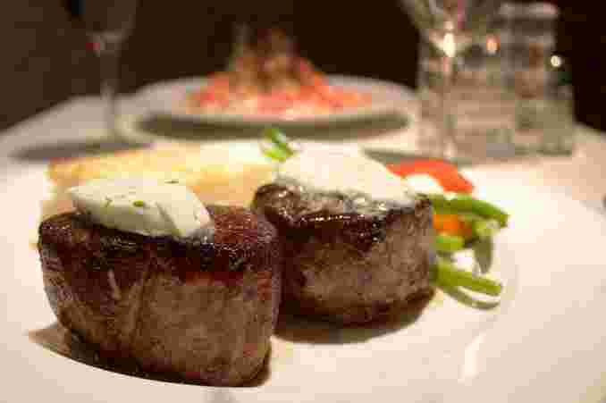 Porcini Crusted Filet Mignon