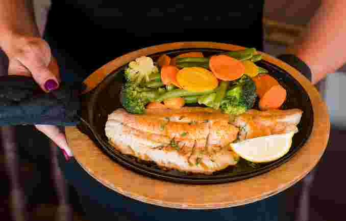 Fresh Broiled Haddock