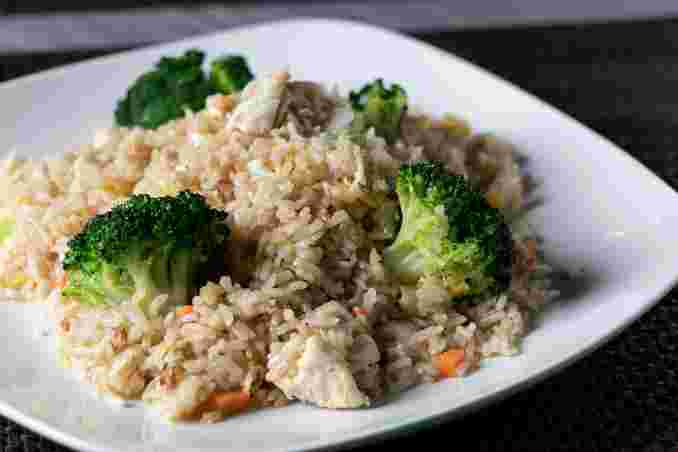 Thai Fried Rice with Chicken