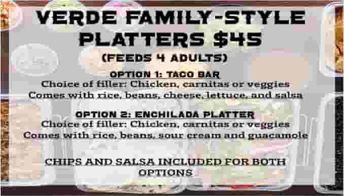 Family Platter (Feeds 4)