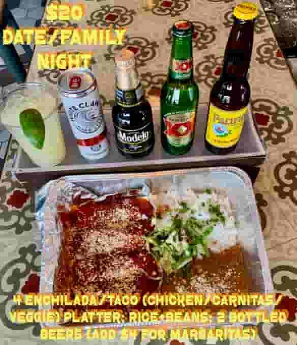 Lunch/Dinner for 2