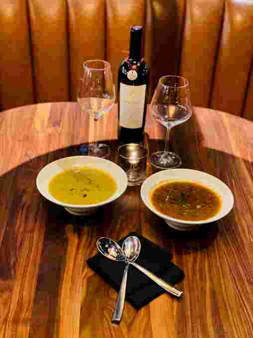 French Lentil and Jamon Iberico Soup