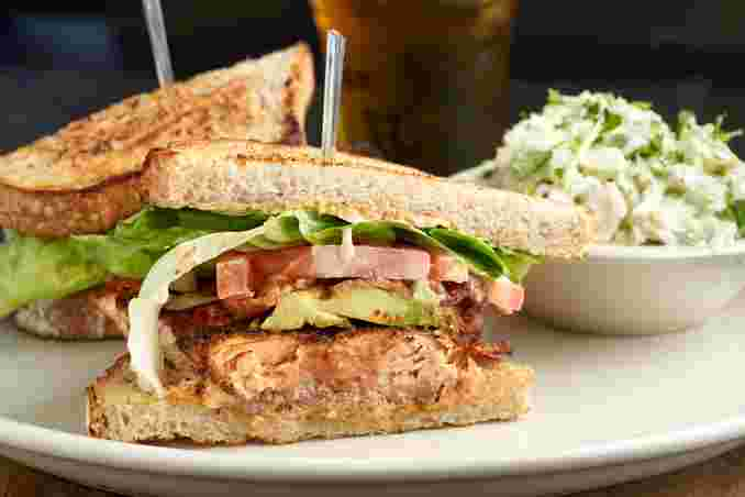 Blackened Salmon BLT*
