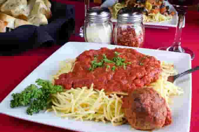 Spaghetti and a Meatball
