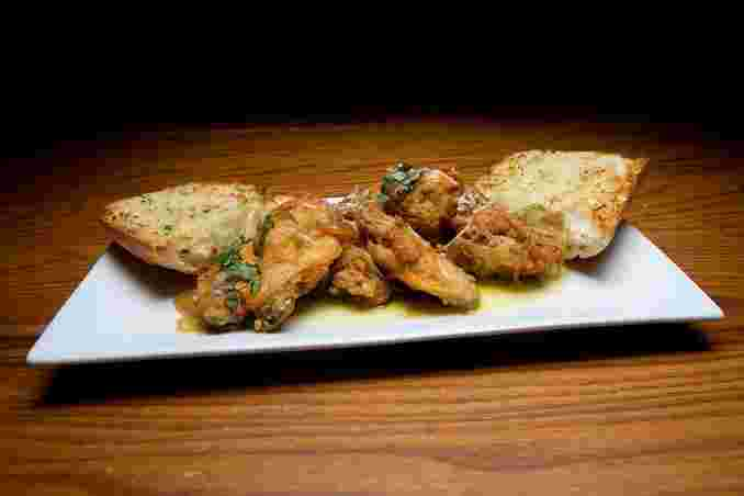 Tuscan Chicken Wings