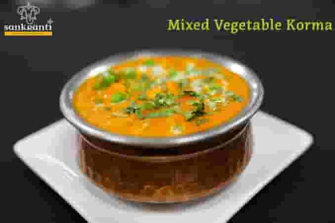 Mixed Vegetable Korma