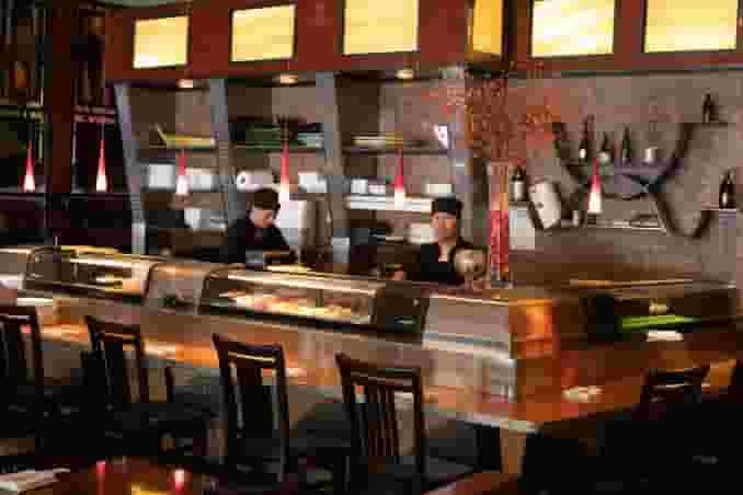 Dining at Tengda Asian Bistro