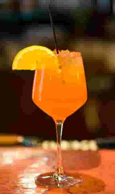 Blood Orange Fizz