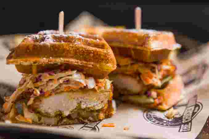 The Belly Buster Sandwich