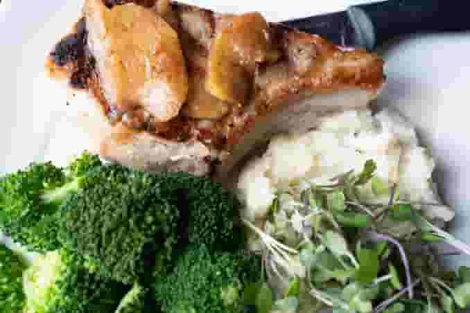 Butcher's Block Grilled Prime Pork Chop*