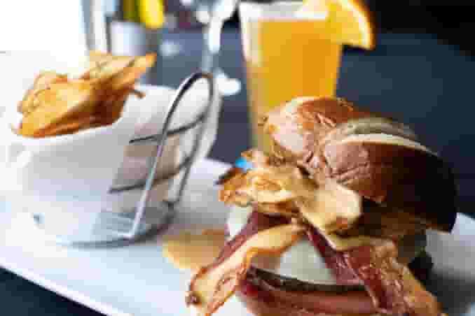 Jam-N-Brew Burger*