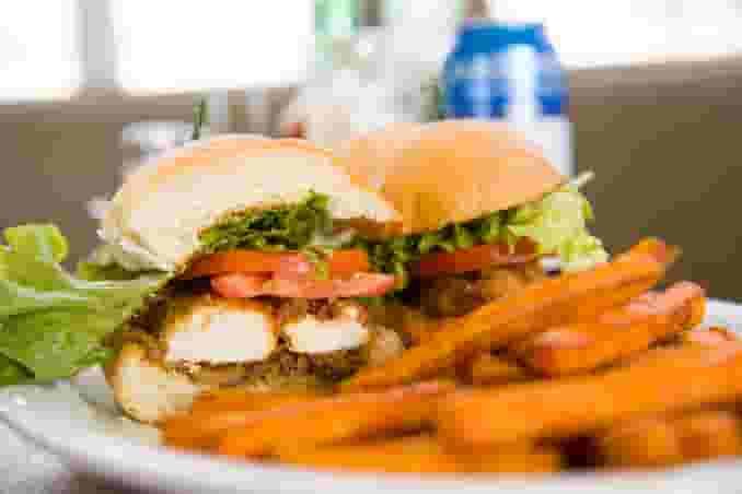 Alex's Buffalo Chicken Sandwich