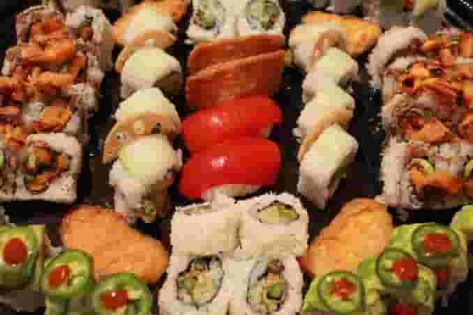 Sushi 101 Vegetarian Sushi Tray