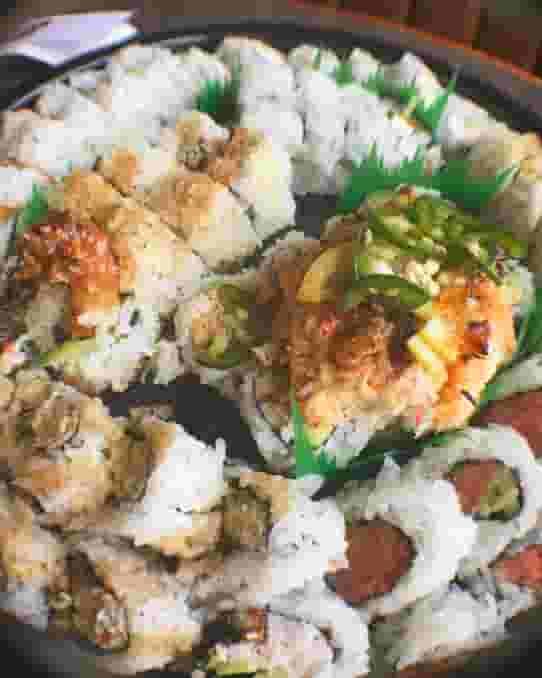 Sushi 101 Roll Tray