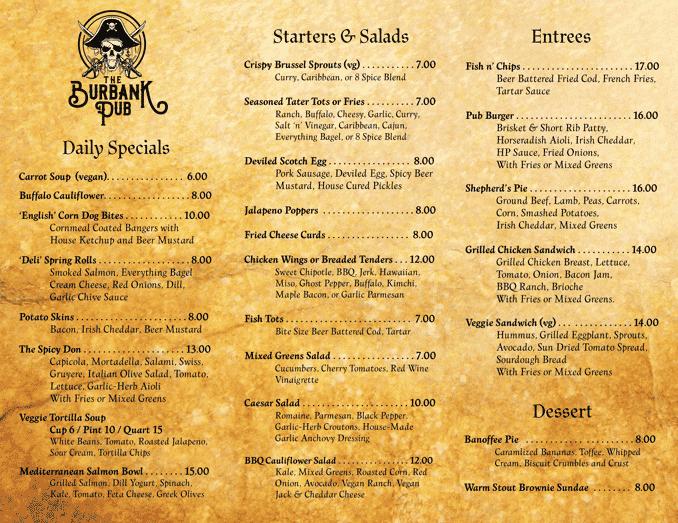 limted menu