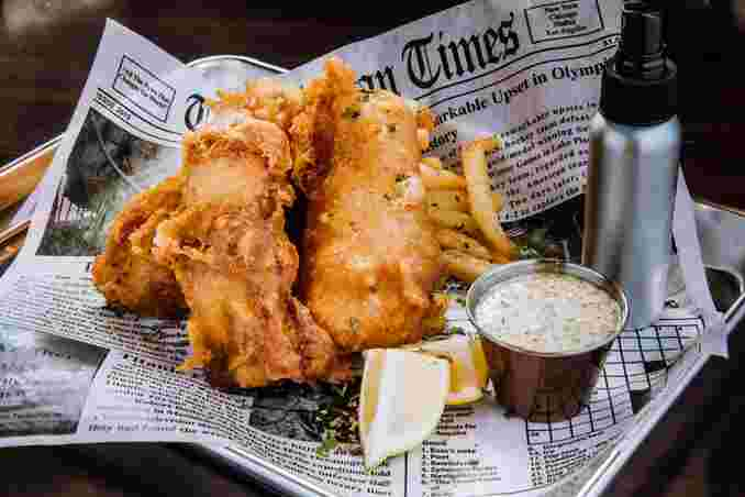 Fish n' Chips or Shrimp n' Chips