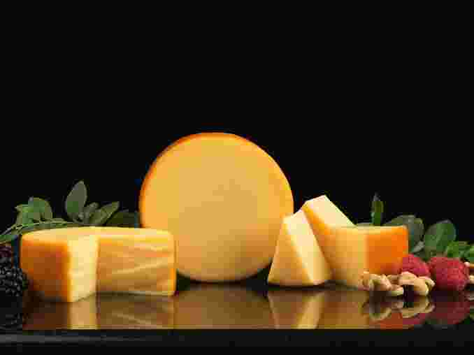 Smoked Gouda, Pasteurized Process Gouda and Cheddar Cheese