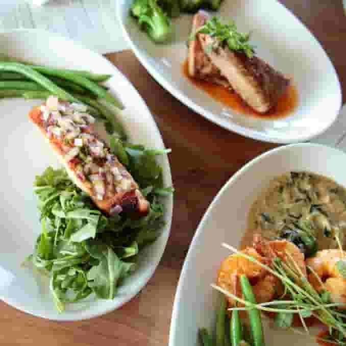 Pan-Seared Filet Salmon