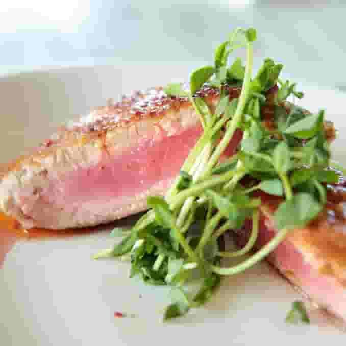 Pan-Seared Yellowfin Tuna