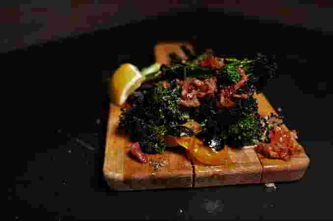 BACON + BROCCOLINI