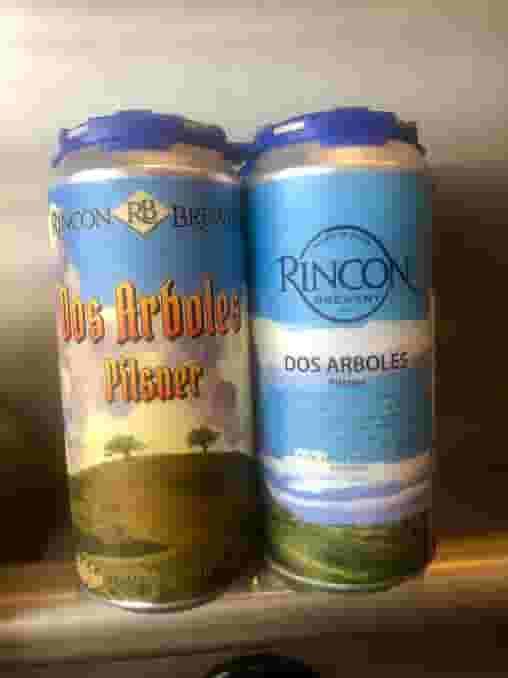 Dos Arboles Pilsner 4 Pack