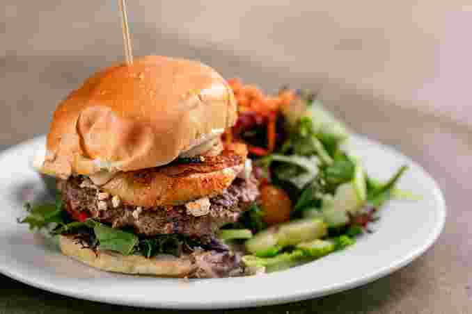 Black & Bleu Burger