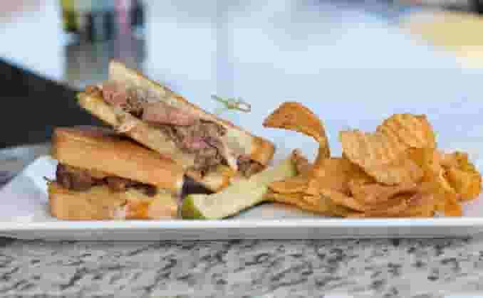 Grilled Rib Eye Steak Sandwich