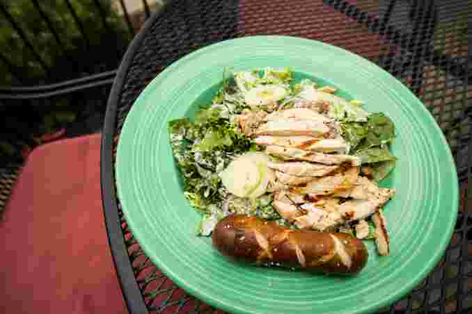 Grilled Chicken House Salad