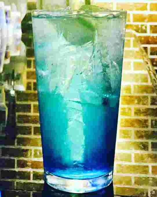 Royal Blue Ice Water