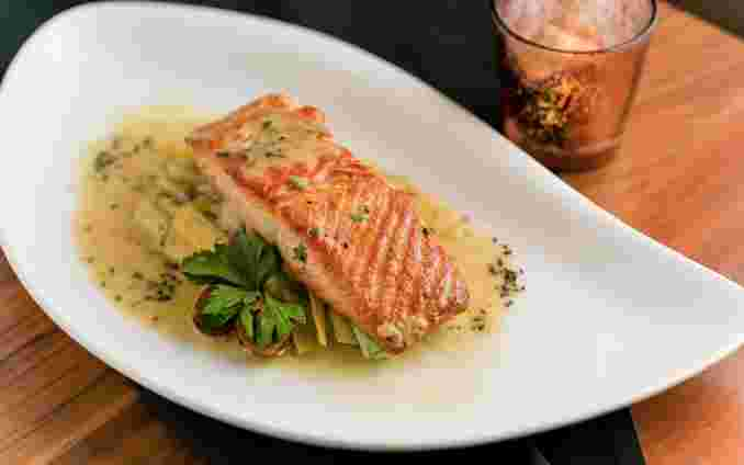 Pan Seared Ora King Salmon
