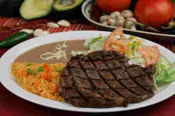45. Steak Plate