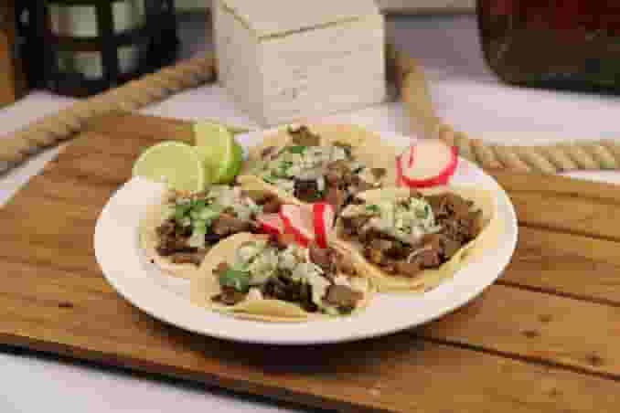 Four Tacos Plate