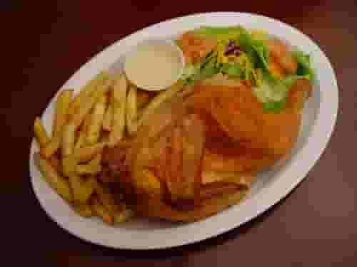 38. Pollo Asado #1 - With Fries and Salad